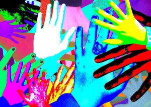 Hand Painting Collage (Children's)