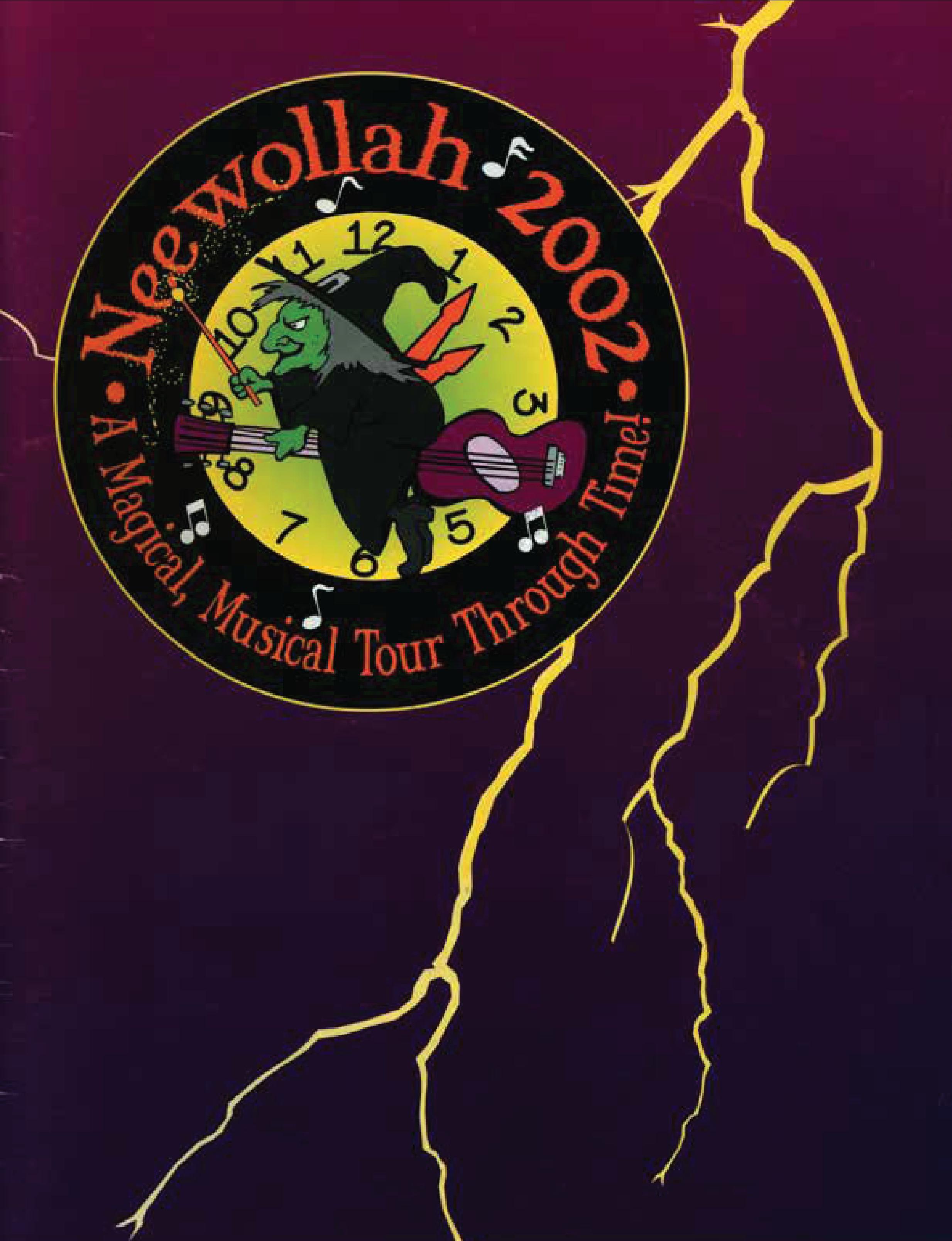 Neewollah 2002 A Magical Musical Tour Through Time